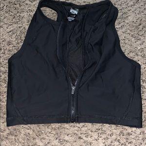 Victoria's Secret high neck sports bra/ crop top